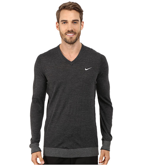 Imbracaminte Barbati Nike Engineered Knit 3D Sweater Black HeatherCharcoal HeatherAnthraciteWolf Grey