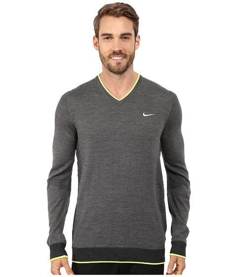 Imbracaminte Barbati Nike Engineered Knit 3D Sweater Charcoal HeatherBlack HeatherVoltWolf Grey