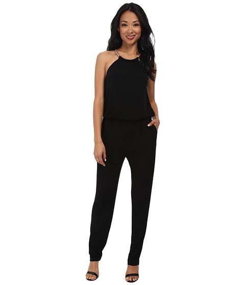 Imbracaminte Femei rsvp Lydia Necklace Jumpsuit Black