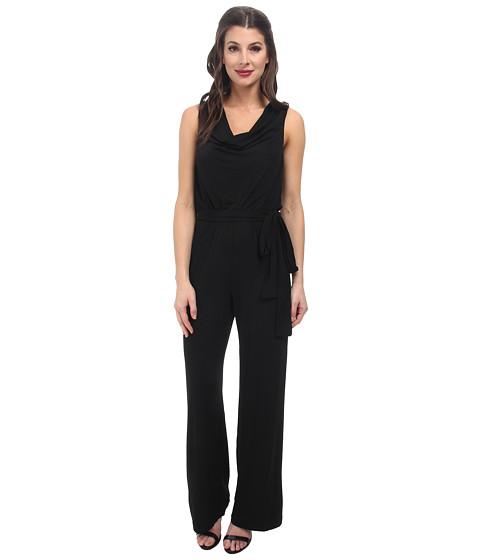 Imbracaminte Femei rsvp Erin Cowl Neck Jumpsuit Black Multi
