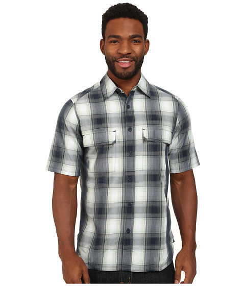 Imbracaminte Barbati Woolrich Enroute SS Shirt Deep Indigo Plaid
