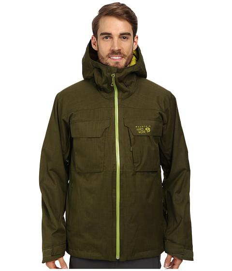 Imbracaminte Barbati Mountain Hardwear Powzilla Insulated Jacket Utility Green