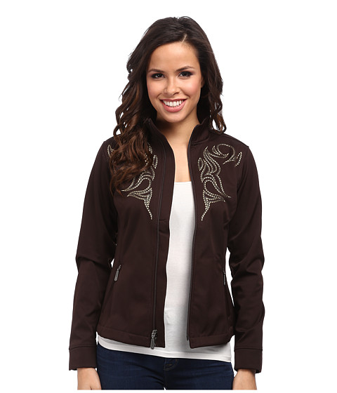Imbracaminte Femei Ariat Judy Softshell Jacket Coffee Bean