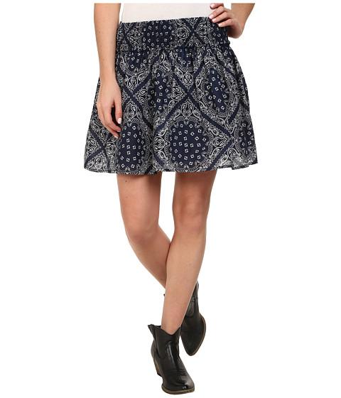 Imbracaminte Femei Ariat Bandana Print Skirt Peacoat Navy