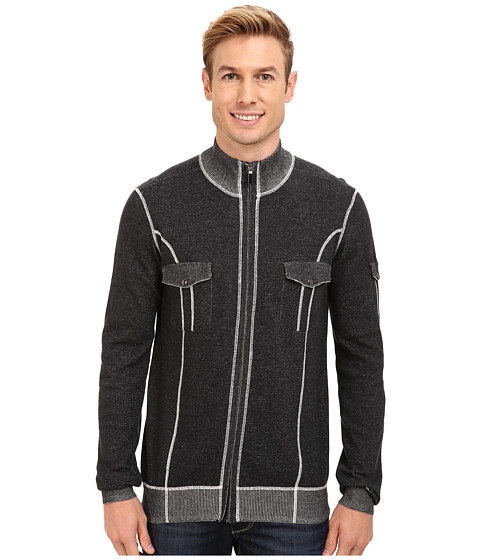 Imbracaminte Barbati Ecoths Brady Full Zip Sweater Black