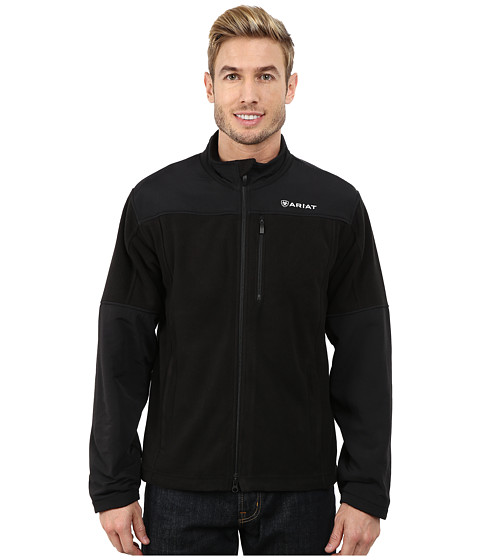 Imbracaminte Barbati Ariat Crescent Fleece Jacket Black