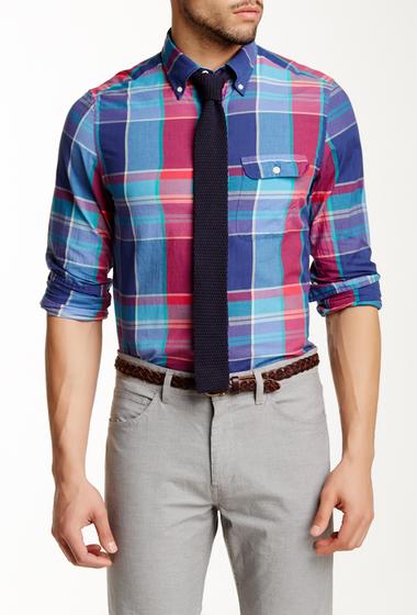 Imbracaminte Barbati Gant Rugger L Wilshire Madras Check Long Sleeve Fitted Shirt VINTAGE BLUE