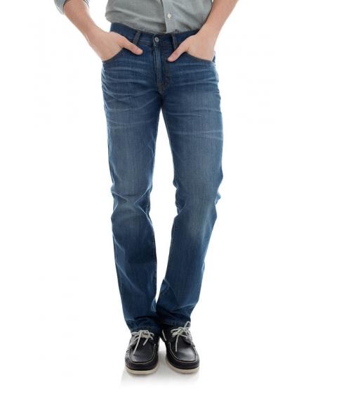 Imbracaminte Barbati US Polo Assn Faux Button Fly Premium Slim Straight Fit Jean Blue