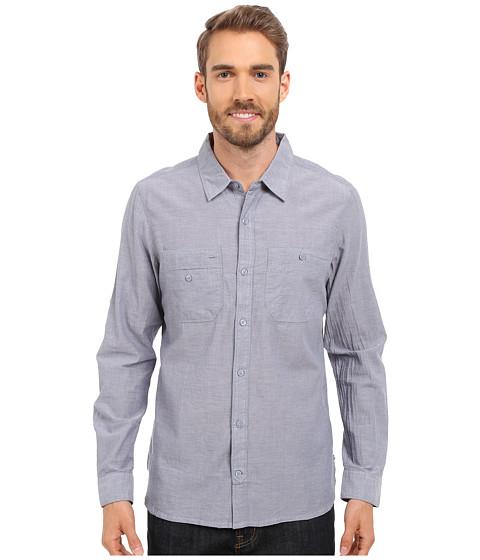 Imbracaminte Barbati ToadCo Honcho LS Shirt Moody Blue