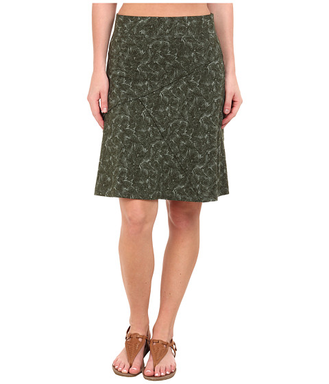 Imbracaminte Femei ToadCo Oblique Jersey Knit Skirt Pinon Pine Boughs Print