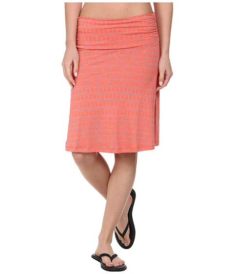 Imbracaminte Femei ToadCo Chaka Skirt Dark Coral Aspen Print