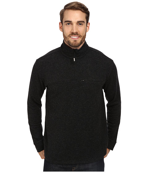 Imbracaminte Barbati ToadCo Nightwatch 14 Zip Black HeatherSmoke