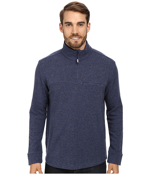 Imbracaminte Barbati ToadCo Nightwatch 14 Zip Blue SteelCharcoal Heather