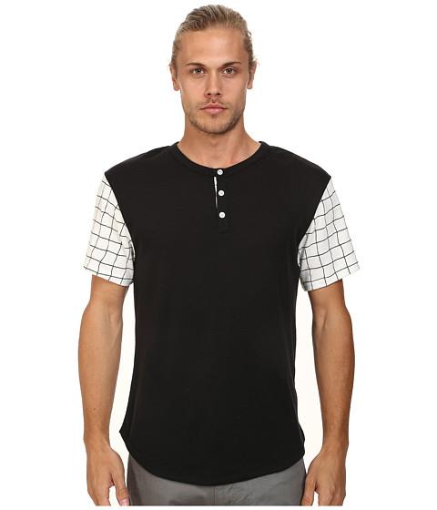 Imbracaminte Barbati Alternative Apparel Home Run Tee Black Grid