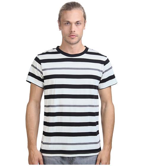 Imbracaminte Barbati Alternative Apparel Cotton Modal Stripe Crew Black