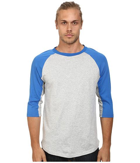 Imbracaminte Barbati Alternative Apparel Cotton Modal Baseball Tee Bright Blue