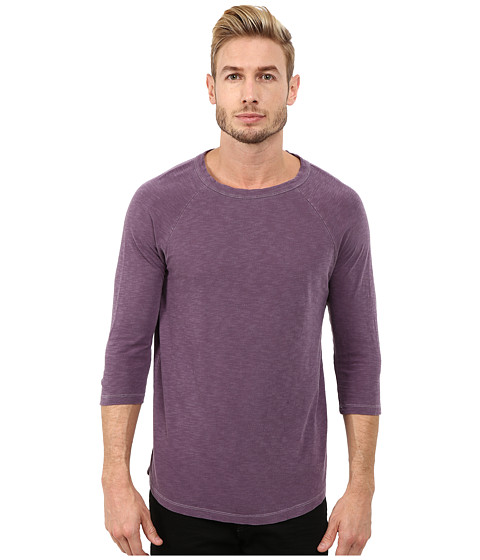 Imbracaminte Barbati Alternative Apparel Washed Slub Baseball Tee Purple Haze