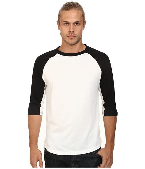 Imbracaminte Barbati Alternative Apparel Cotton Modal Baseball Tee Black