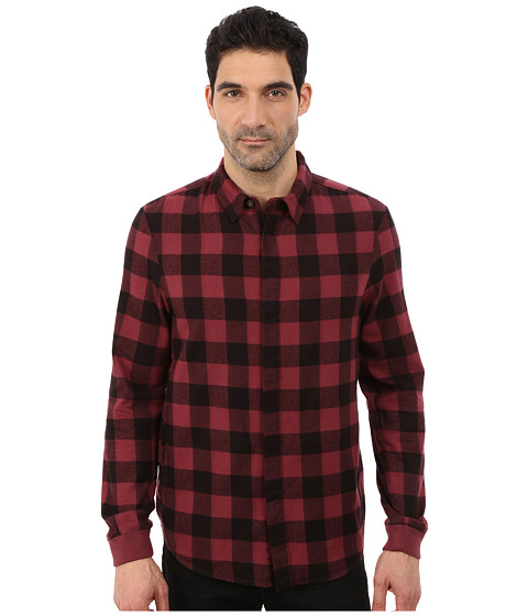 Imbracaminte Barbati Alternative Apparel Expedition Flannel Long Sleeve Carmine