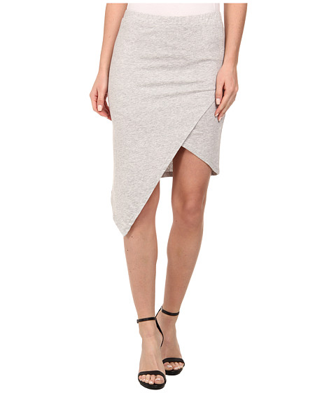 Imbracaminte Femei Alternative Apparel Modal Asymmetrical Skirt Heather Grey
