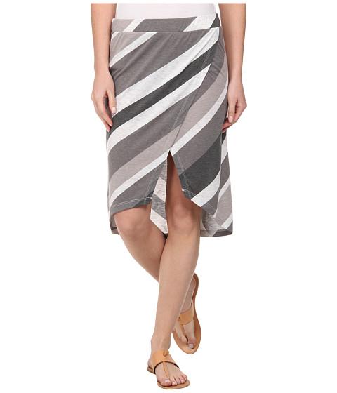 Imbracaminte Femei Alternative Apparel Melange Jersey Wrap Skirt Raven Endless Summer Stripe