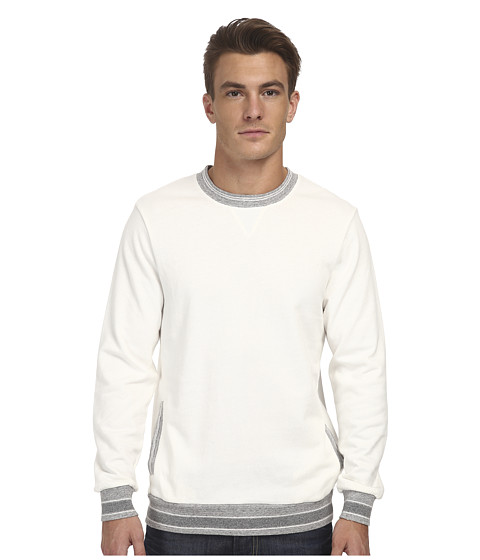 Imbracaminte Barbati Alternative Apparel Light French Terry Crew Neck Vanilla Ice