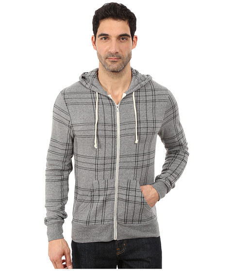 Imbracaminte Barbati Alternative Apparel The Rocky Eco Grey Plaid
