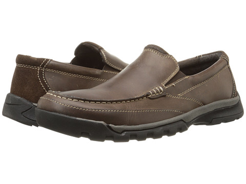 Incaltaminte Barbati Florsheim Roster Moc Slip-On Brown Crazy Horse