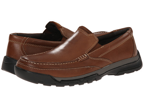 Incaltaminte Barbati Florsheim Roster Moc Slip-On Cognac Smooth