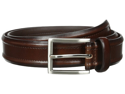 Accesorii Barbati Florsheim Dress Casual Burnished Leather Belt 32mm Brown