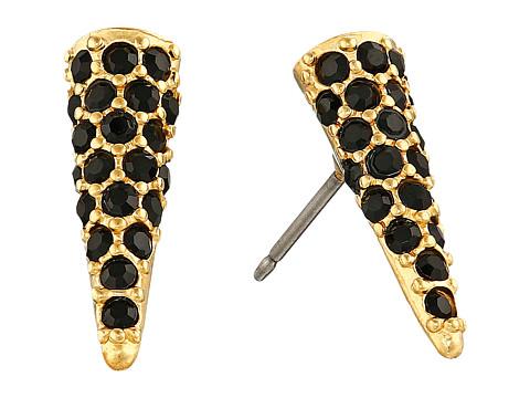 Bijuterii Femei Sam Edelman Pave Spike Stud Earrings BlackGold