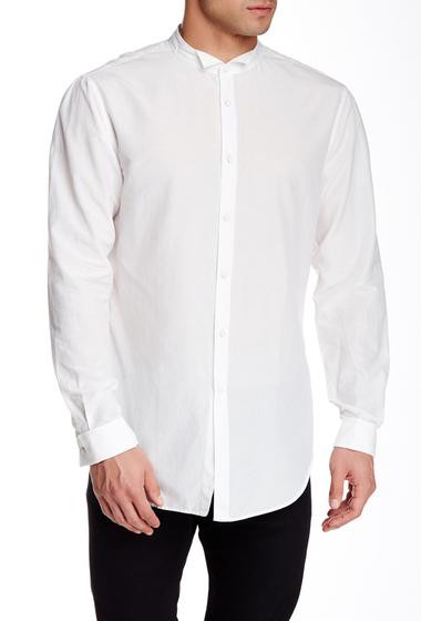 Imbracaminte Barbati John Varvatos Wing Collar Long Sleeve Slim Fit Shirt EGG SHELL