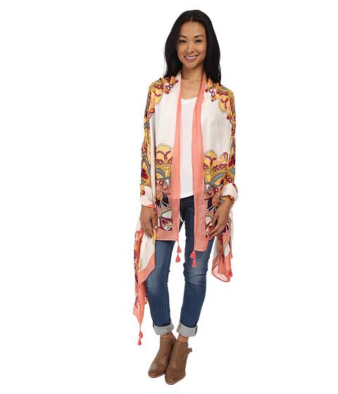 Accesorii Femei Michael Stars Mandala Wrap Coral Blush