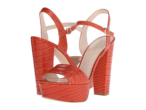 Incaltaminte Femei Nine West Carnation Red Orange Croco