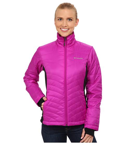 Imbracaminte Femei Columbia Mighty Litetrade Hybrid Jacket Bright PlumBlack