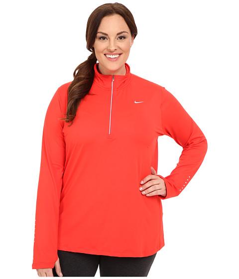 Imbracaminte Femei Nike Dri-FITtrade Extended Element 12 Zip Light CrimsonReflective Silver