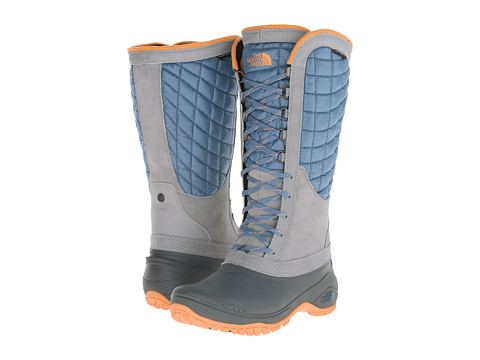 Incaltaminte Femei The North Face ThermoBalltrade Utility Cool BlueImpact Orange (Prior Season)