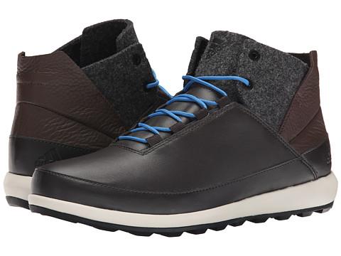 Incaltaminte Barbati adidas Outdoor Zappan II Winter Mid Night BrownBlackSuper Blue