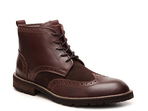 Incaltaminte Barbati Florsheim Brannon Wingtip Boot Brown