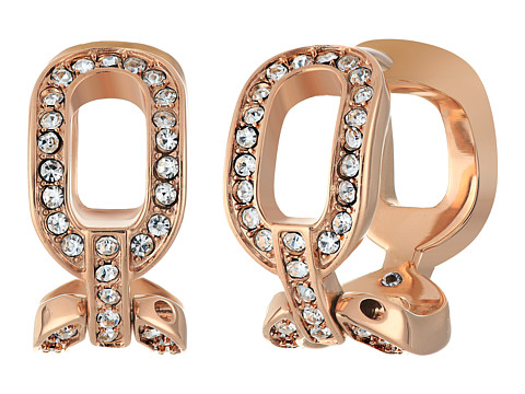 Bijuterii Femei Michael Kors Chain Huggie Earrings Rose Gold