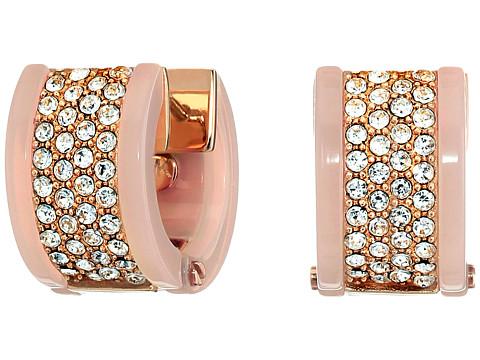 Bijuterii Femei Michael Kors Chain Huggie Earrings Rose Gold 1