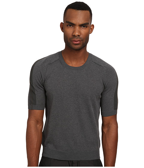 Imbracaminte Barbati Costume National Short Sleeve Sweater Grey