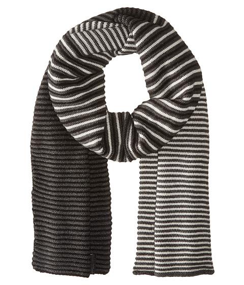 Accesorii Barbati Calvin Klein Ombre Stripe Muffler BlackCharcoal Grey