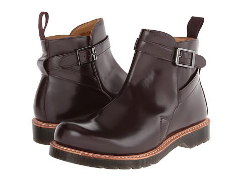 Incaltaminte Barbati Dr Martens Kenton Dealer Boot Oxblood Polished Smooth