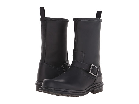 Incaltaminte Barbati Dr Martens Falan Zip Rig Buckle Boot Black Burnished Wyoming
