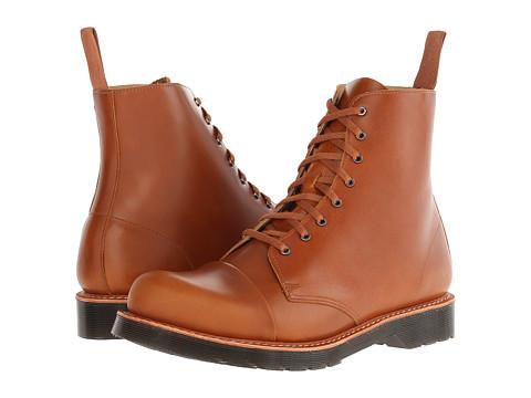 Incaltaminte Barbati Dr Martens Charlton 8-Eye Toe Cap Boot Oak Analine
