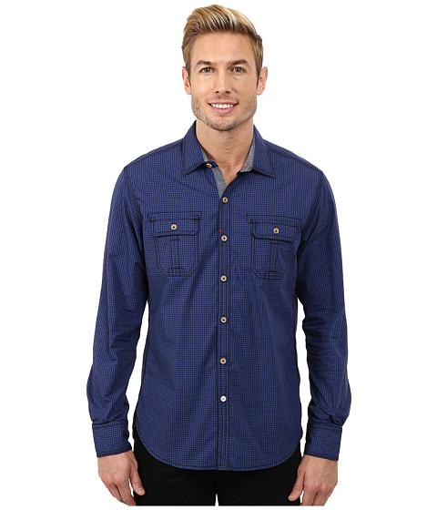 Imbracaminte Barbati Robert Graham Halifax Long Sleeve Woven Shirt Royal