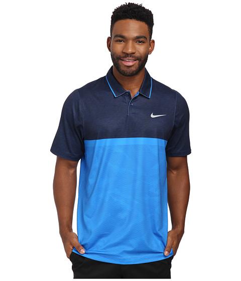 Imbracaminte Barbati Nike Momentum Camo Polo Photo BluePhoto BlueDeep Royal BlueWolf Grey
