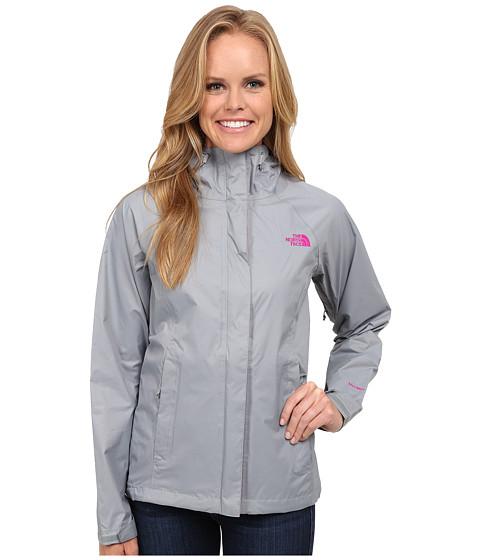 Imbracaminte Femei The North Face Venture Jacket Mid GreyLuminous Pink