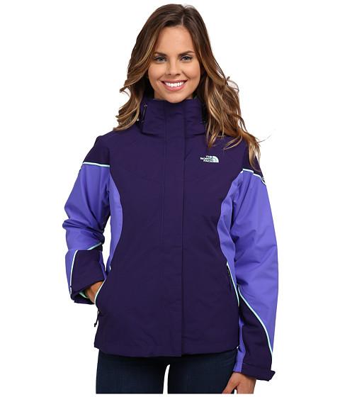 Imbracaminte Femei The North Face Boundary Triclimatereg Jacket Garnet PurpleStarry PurpleSurf Green